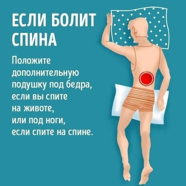 Что предпринять если болит спина?