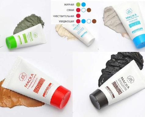 Выбор маски компании Новая Жизнь в зависимости от типа кожи
